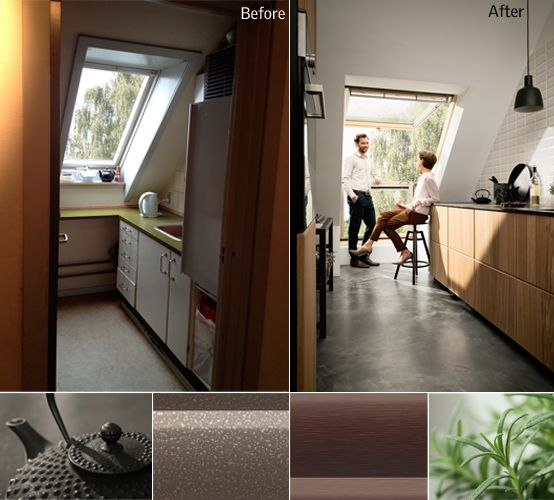 VELUX CABRIO Dachfenster Haus Pinterest Attic, Lofts And Interiors21 ...