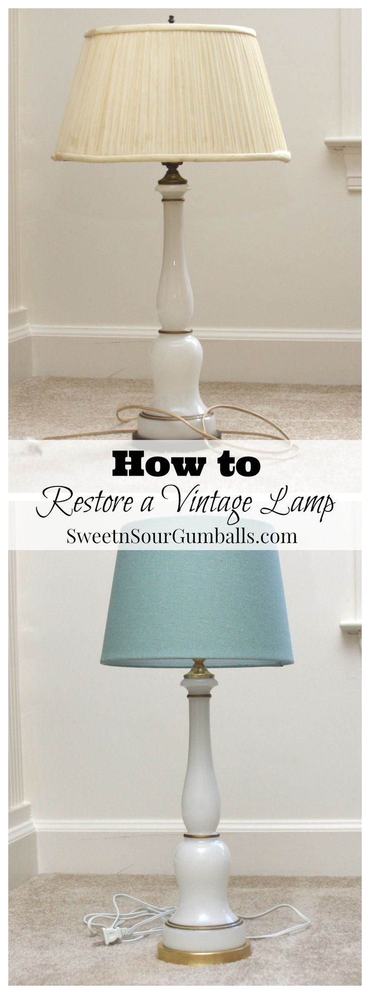 170 best Upholstery/lampshade makeovers images on Pinterest | Home ...
