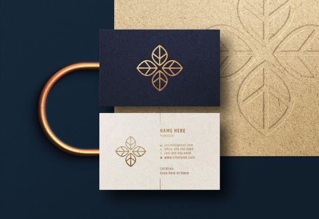 Modern Luxury Business Card Mockup Luxury Business Cards Business Card Mock Up Modern Business Cards