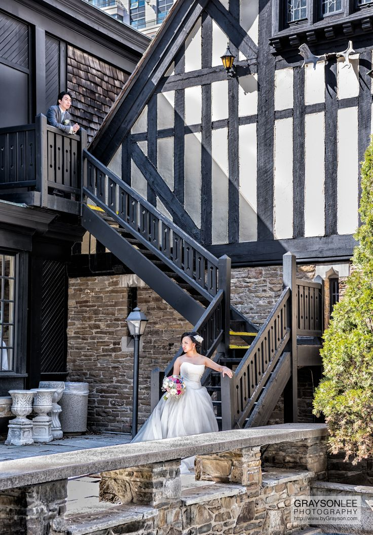 Gwen and Chun-Fai.  A gorgeous couple and wedding at the iconic Old Mill Inn in Toronto, Canada.