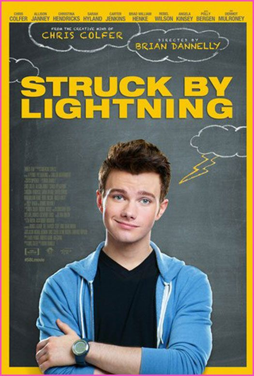 """Struck By Lightning"" Movie Poster With Chris Colfer"