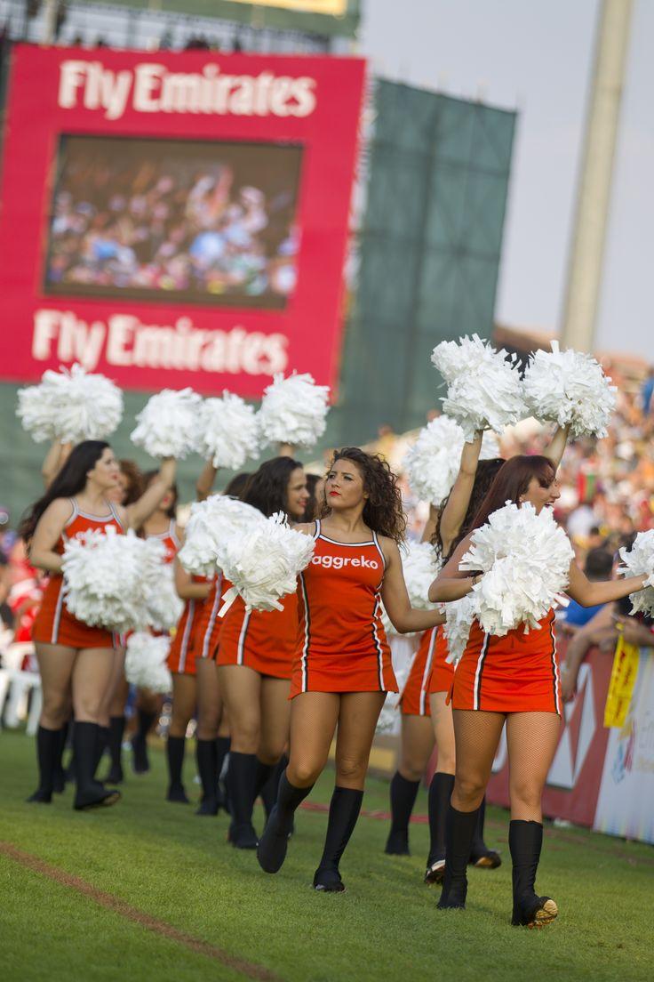 The amazing Aggreko Dynamo Cheerleaders will be back again for this year's event #AggrekoDynamos #Cheerleaders #Dubai7s