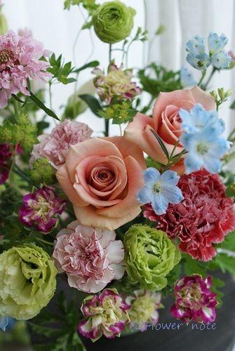 【母の日】どっちがすき? | Flower noteの フラワーギフト&レッスン(横浜・上大岡)