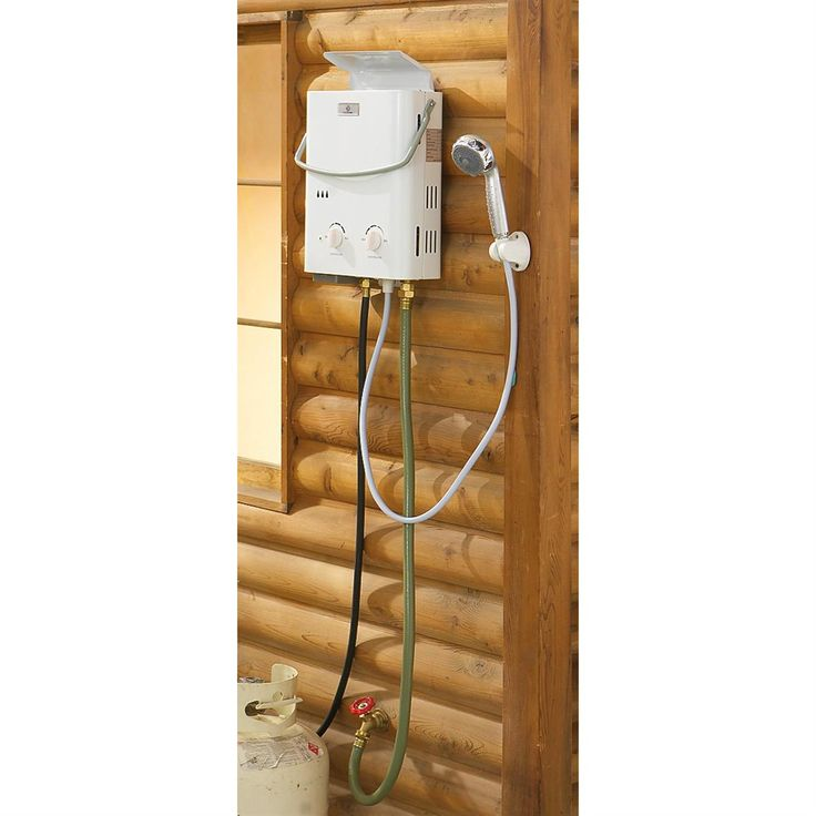 25 best ideas about portable outdoor shower on pinterest outdoor camping shower portable - Shower water heater ...