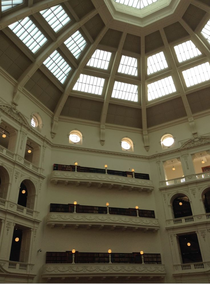 roof of state library