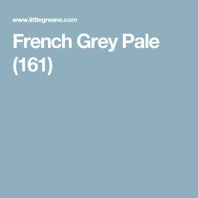 French Grey Pale (161)
