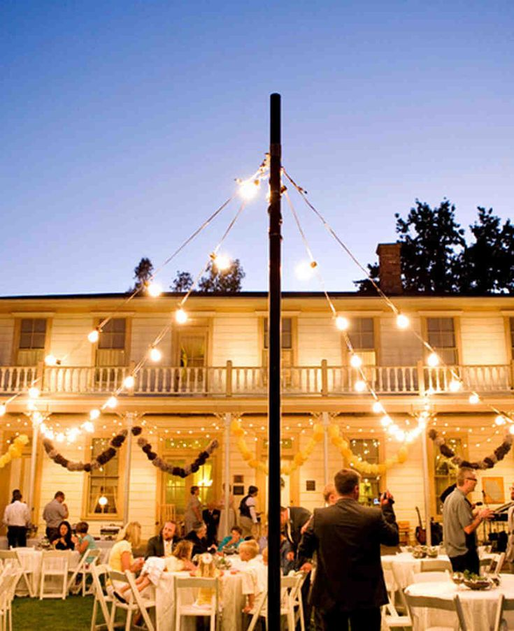 outside wedding lighting ideas. outdoor wedding lighting ideas from real celebrations martha stewart weddings outside o