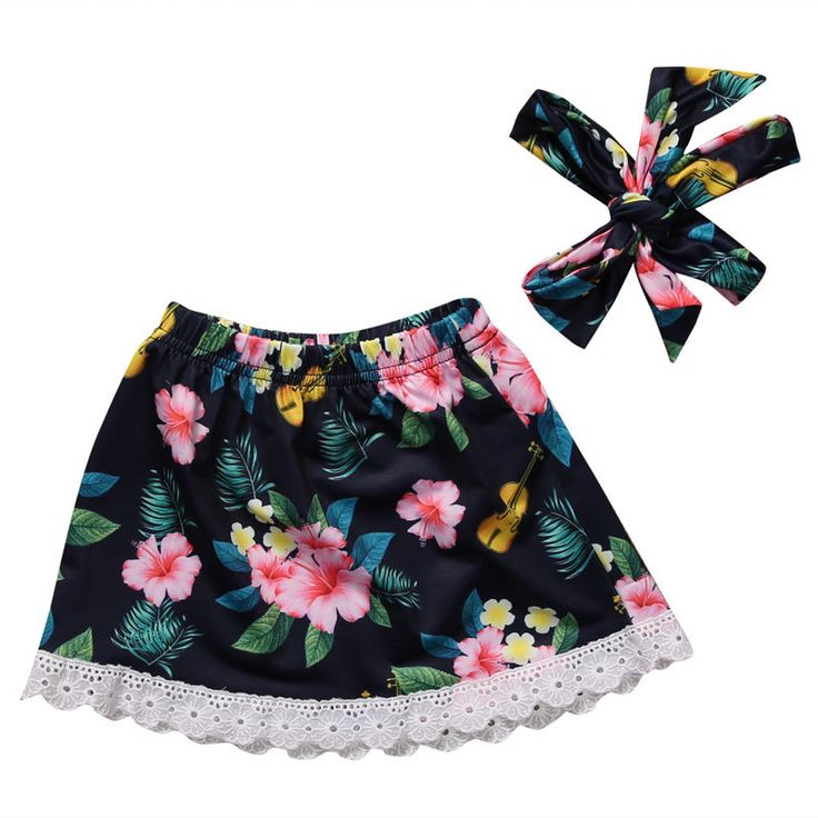 >> Click to Buy << Wholesale Sweet Kids Children Baby Girls Princess Party Flower Casual Tutu Short Skirts Headband 2PCS Outfits Clothes #Affiliate