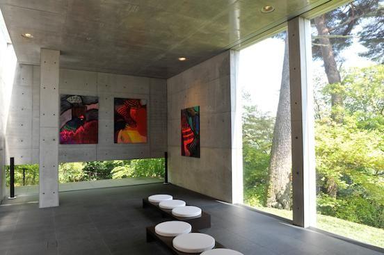 安藤忠雄が設計した小篠弘子邸がアートギャラリーとなって一般公開