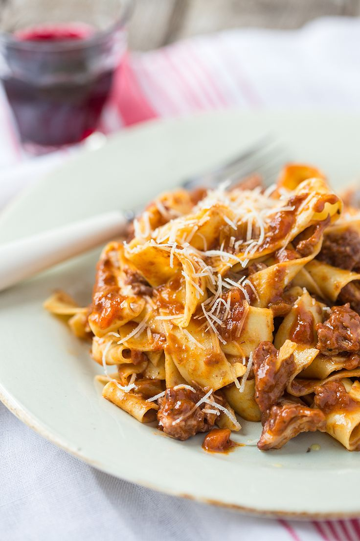 Wild Boar Ragu- Recently had this with my girlfriends. As foodies, we swoon over it every time. Hand made pasta will send this over the top.