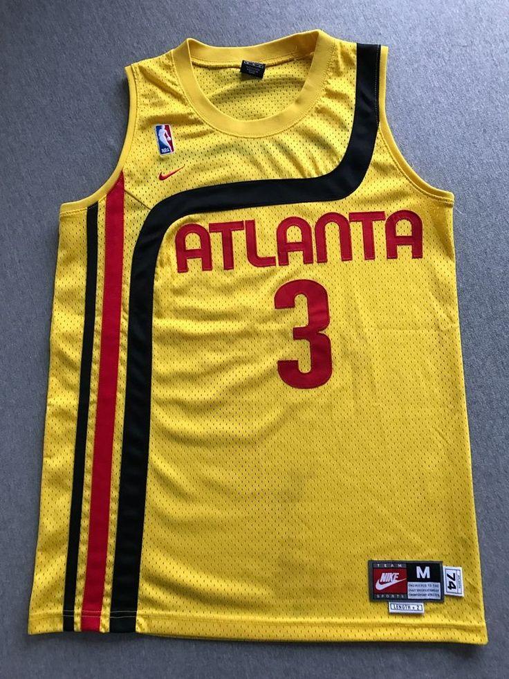 620099b8198 ... Atlanta Hawks Nike Jersey Shareef Abdur Rahim 3 Swingman Sewn  Basketball Men ...