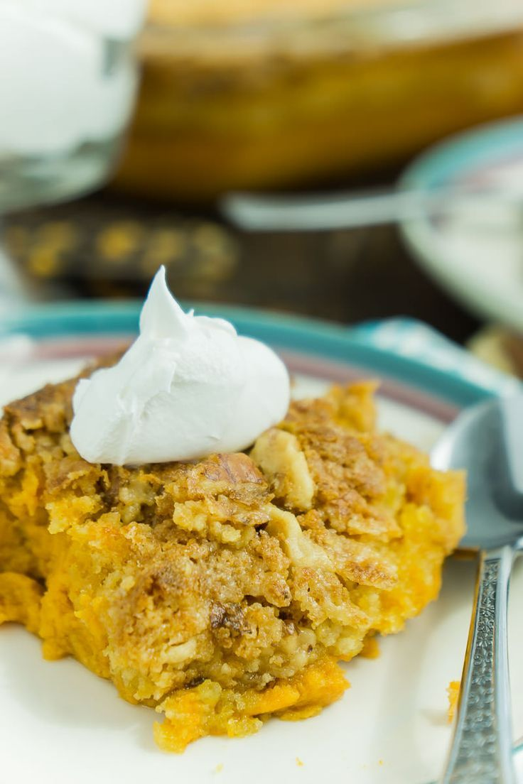 recipe: pumpkin crunch cake pampered chef [19]