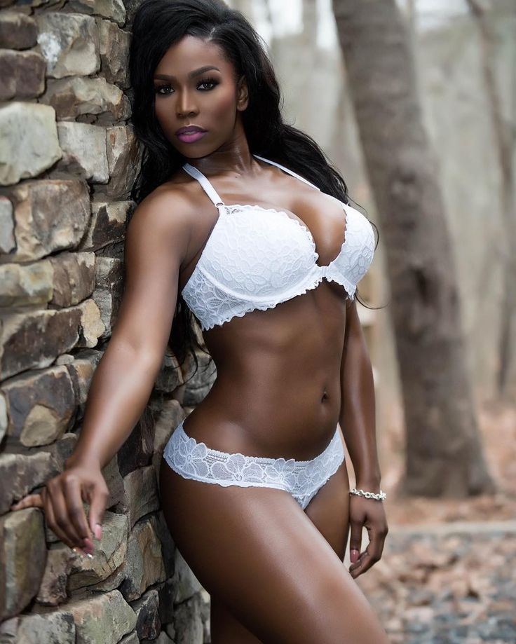 Francisco black beauties in lingerie