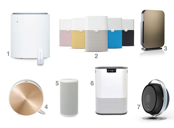 Here are 7 of the best air purifiers that merge design and dust-busting in one.