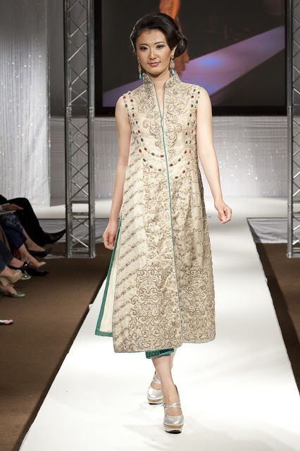 Pakistan Fashion Week 2011 London ~ Burooj Couture by Rana Noman Finale Show - Asian Wedding Ideas