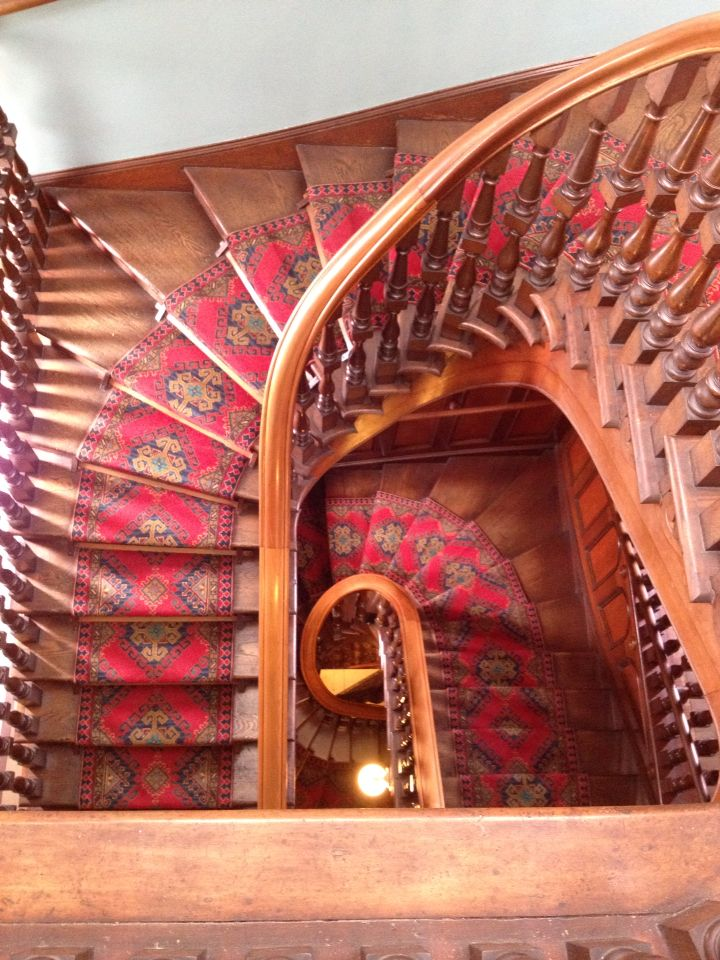 Staircase Larnach Castle