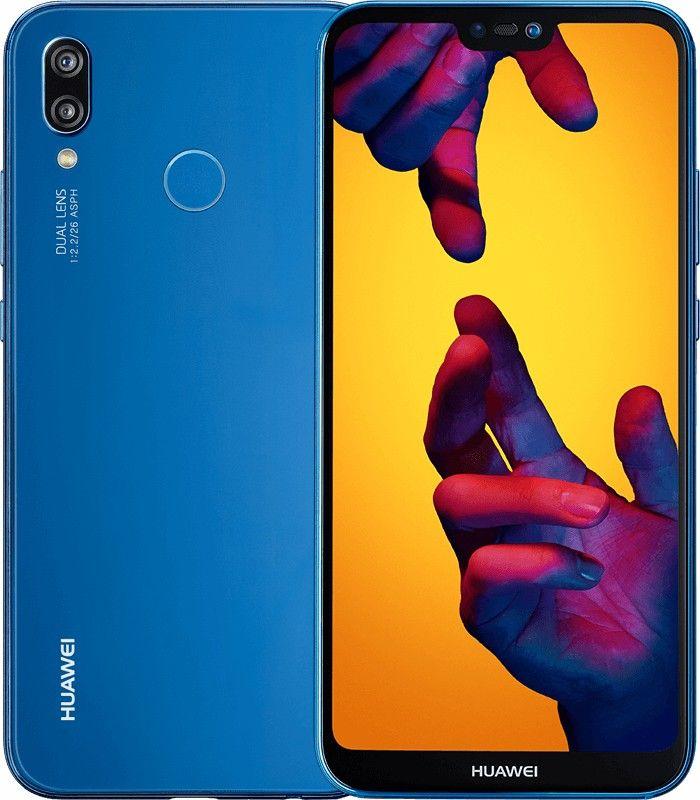 Huawei P20 Lite 4g 64gb Dual Sim Klein Blue Eu Smartphone Phone Cell Phone Plans