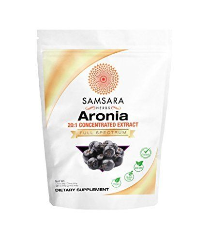 """Samsara Herbs Aronia Extract Powder What is Aronia Extract Powder? Aronia, also known as """"Chokeberry"""" is a hardy shrub which is impervious to most diseases. Containing one of the highest ORAC counts on earth. Aronia is an extremely potent antioxidant superfood.  At Samsara, we pride... more details at http://supplements.occupationalhealthandsafetyprofessionals.com/vitamins/flavonoids/product-review-for-aronia-berry-extract-powder-201-concentration-chokeberry-4oz-114"""