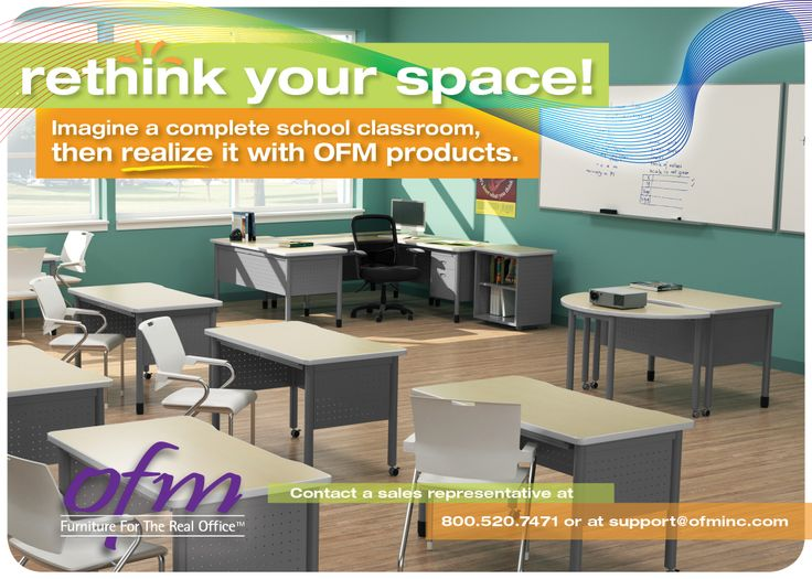 Ultimate Classroom Design ~ Design the ultimate classroom with ofm products including