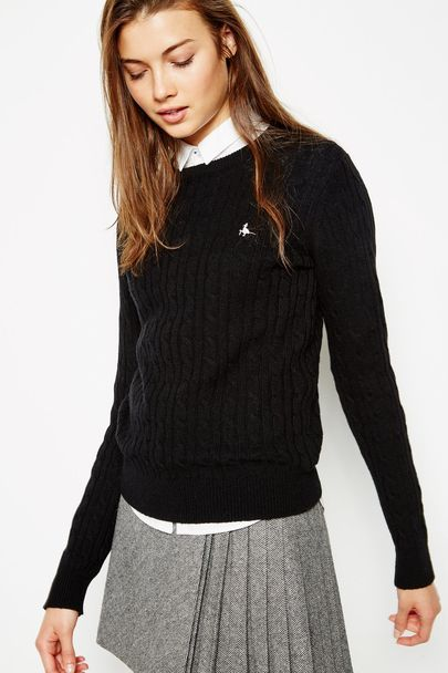 cable knit • jack wills