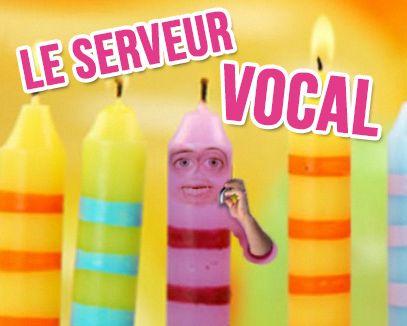 Le serveur vocal - carte #anniversaire animée :