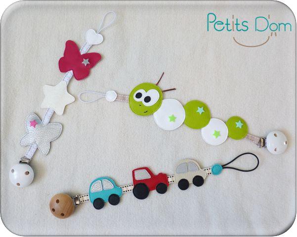 Les 179 meilleures images propos de id es couture doudou sur pinterest jouets motifs et b b - Fabriquer attache tetine ...