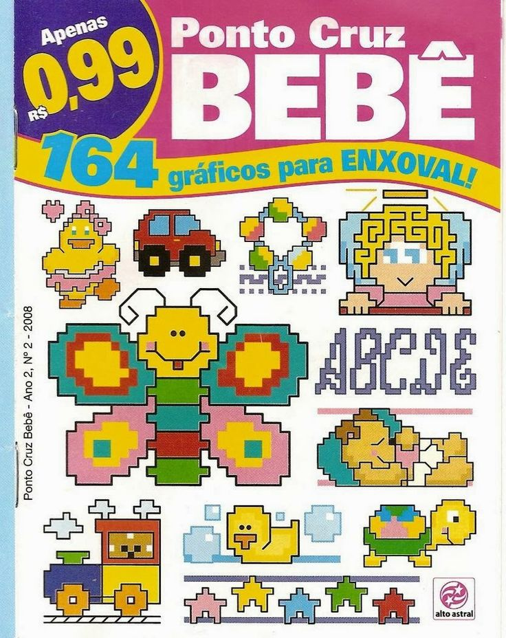 Revista Punto de Cruz para Bebes