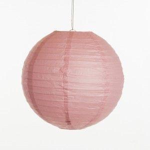 Lampion - Oud roze (30 cm, 40 cm & 50 cm)