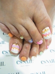 34 best easter toe nail art designs images on pinterest make up toenails but i would do art on big nail solid single color on remaining prinsesfo Image collections