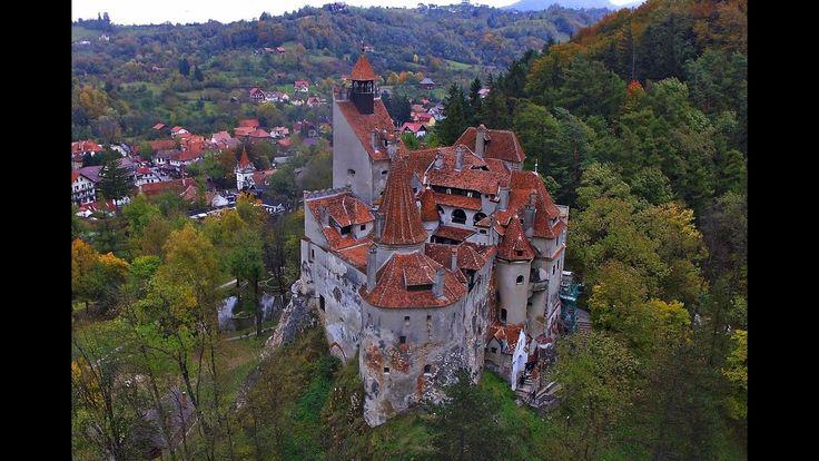 Erdélyi várak, kastélyok a magasból! Cetăți din Transilvania aerial