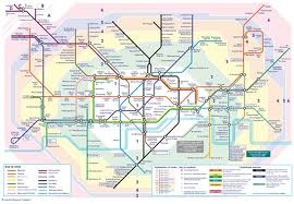 London Tube Map.  Most of what you will want to visit from a tourist perspective will be located in zones 1 and 2.  A weekly travel card for zones 1&2 costs £ 29.20.  Tube maps can be found and any tube station for free or online at Transport for London which also offers a journey planning option.