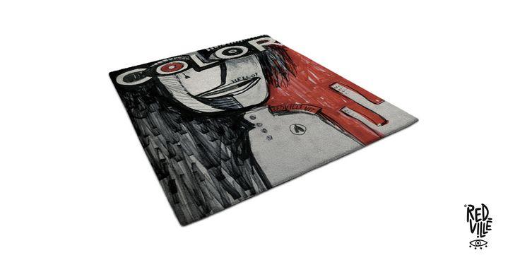 Conosco da diversi anni Silvia Di Piazza, artigiana friulana che con la tecnica dell'hand tufting ha realizzatoincredibili tappeti contemporanei. Quando mi ha chiesto di aiutarla nella scelta di un disegno chemi sarebbe piaciuto vedere realizzato sui suoi tappeti non ho avuto dubbi nè esitazioni: i disegni di Redville (a.k.a. Benedetta Bertolucci) sono perfetti per creare …