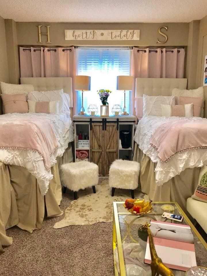 Martin Dorm Room At Ole Miss Dorm Room Inspiration Girls Dorm Room College Bedroom Decor