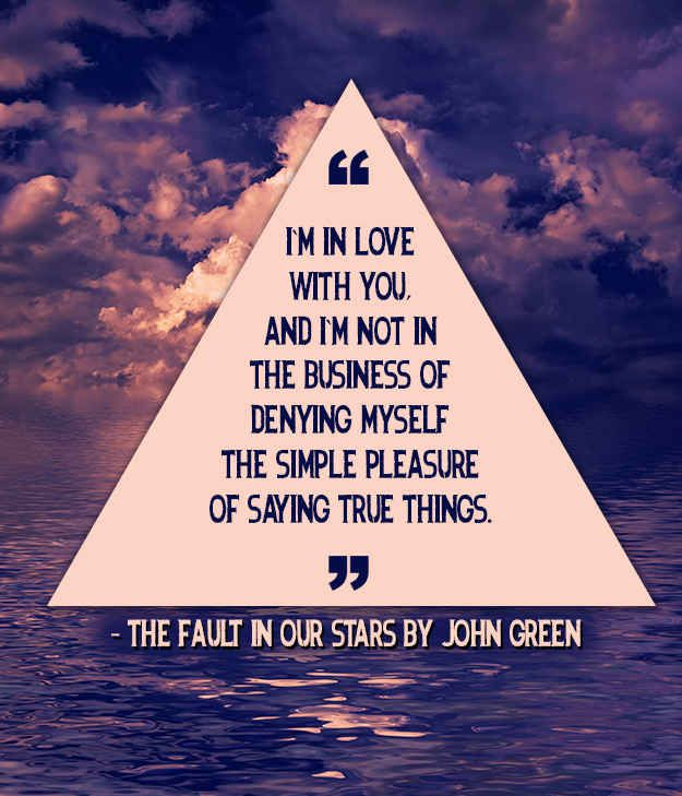 The Fault in Our Stars by John Green | 21 Beautiful And Unique Wedding Readings From Books