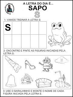 Pequenos Grandes Pensantes.: Atividades Inéditas - Família Silábica do S.