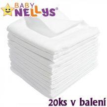 Baby Nellys Kvalitní bavlněné pleny Baby Nellys - TETRA LUX 60x80cm, 20ks v bal.