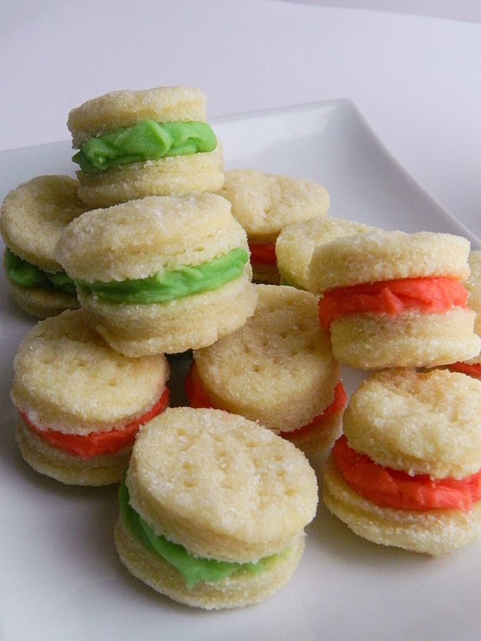 Swedish Cream Cookies / I used to make these back in the 70's and have lost the recipe somewhere along the way!