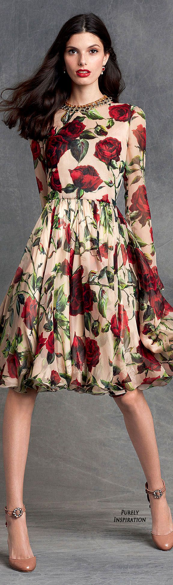 Dolce&Gabbana Winter 2016 Collection Women's Fashion RTW | Purely Inspiration                                                                                                                                                     More