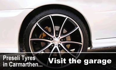 One of the best tyre garages in Carmarthen, highly recommended