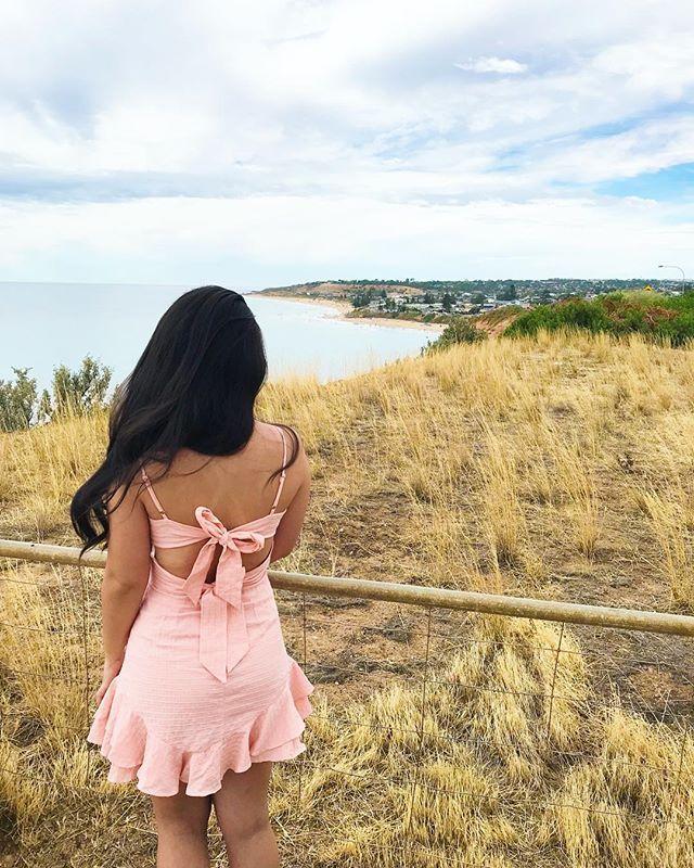Wrong Girl Dress Blush