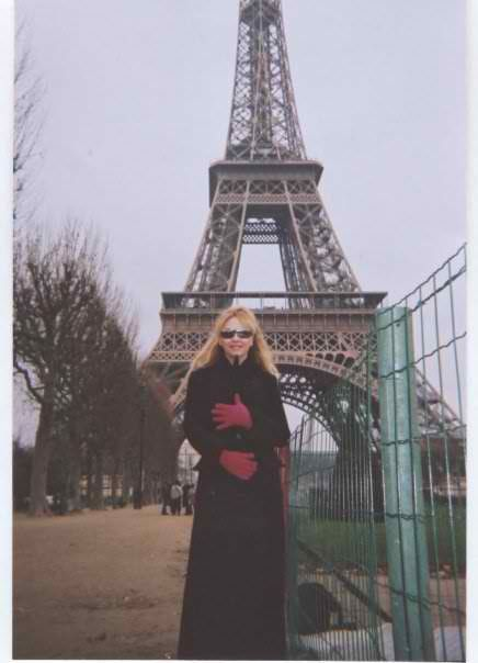 In this picture I am in Paris Eiffel Tower-January 2010