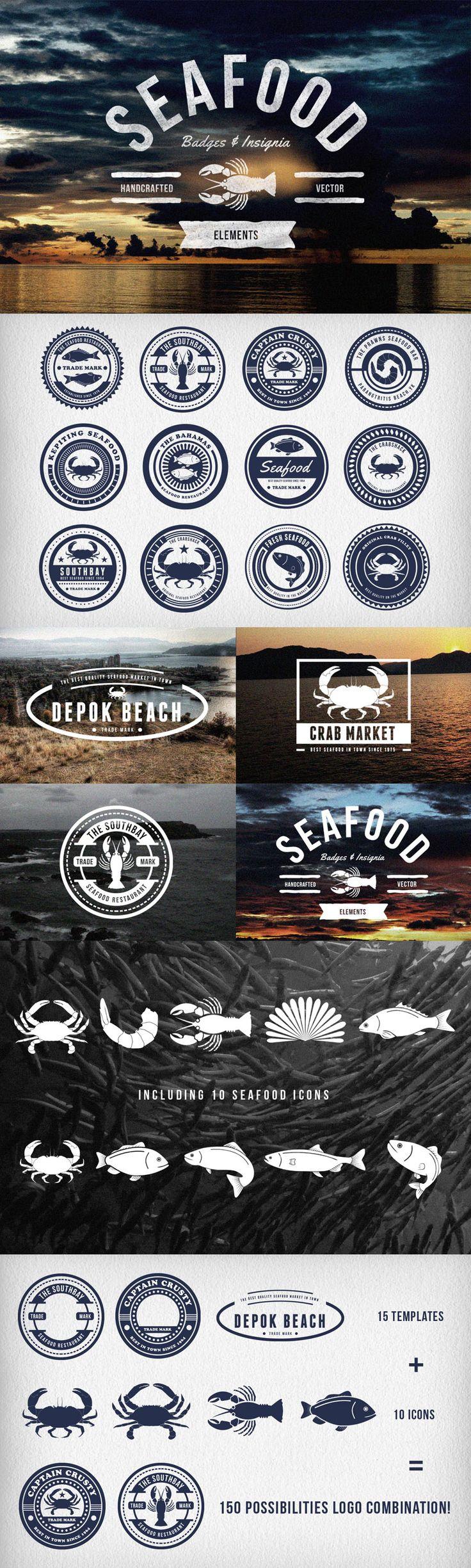 25 best ideas about fish logo on pinterest negative for Fish market design ideas