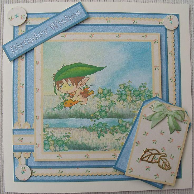 Birthday card 6x6 (Toread)