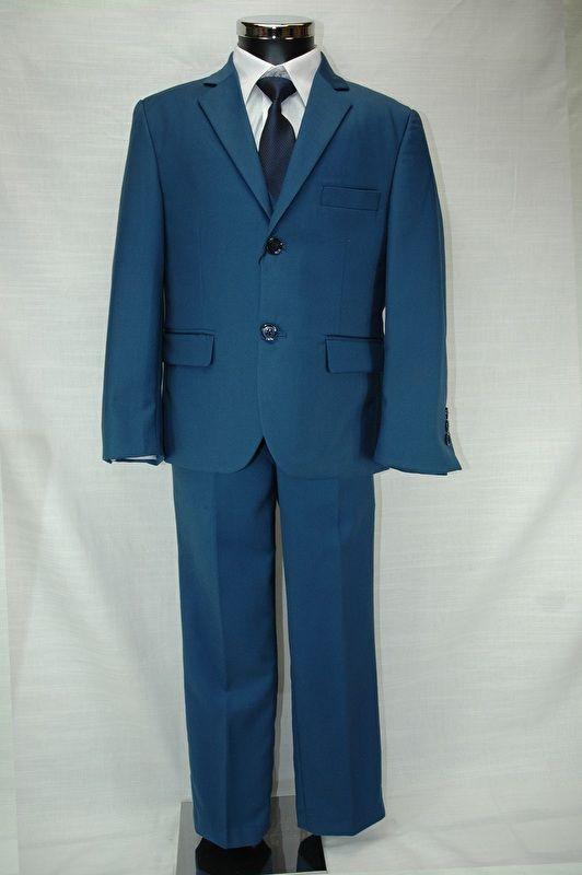 5 delig kostuum blauw