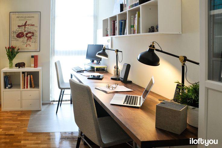 #proyectollull #iloftyou #interiordesign #interiorismo #barcelona #ikea #ikealover #ikeaaddict #office #billy #kallax
