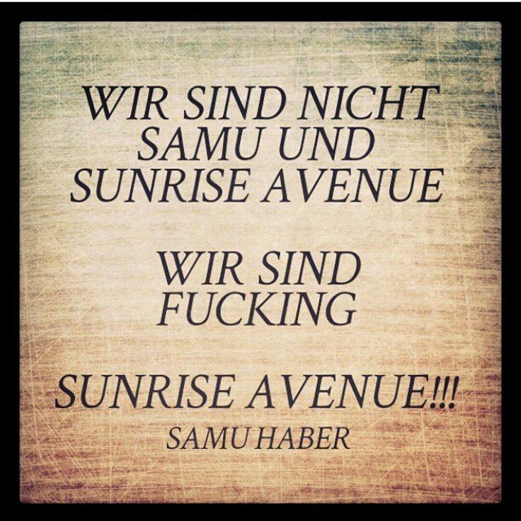 Statement Samu Haber !!