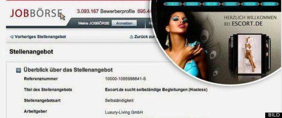 La oficina de empleo de Düsseldorf oferta trabajo como prostituta
