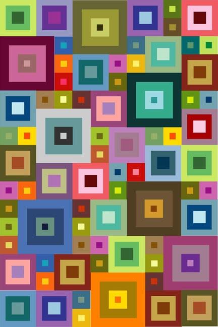 Quilt design - JG-D's next quilt! All in Konas!