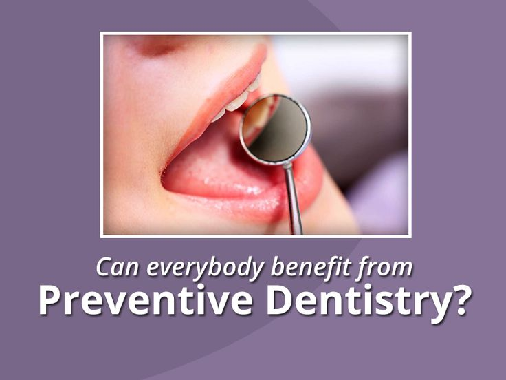 Yes. Preventive dentistry will benefit anyone in helping to keep a healthy smile. Even people with dentures can benefit from preventative care. Conditions such as oral cancer and denture stomatitis can be detected during regular visits to the dental office.