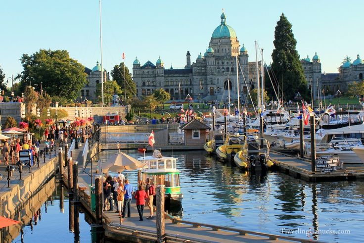 Beautiful Inner Harbour in Victoria BC - 7 things you should do in Victoria - http://travelingcanucks.com/2011/08/things-to-do-in-victoria-british-columbia/